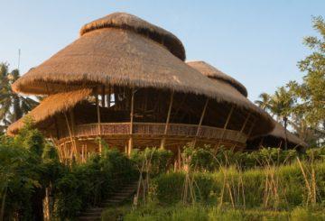 Green School: escola feita com bambu
