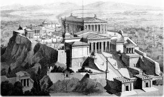 Acrópoles de Atenas - Grega