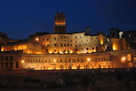 Mercado de Trajano - Roma