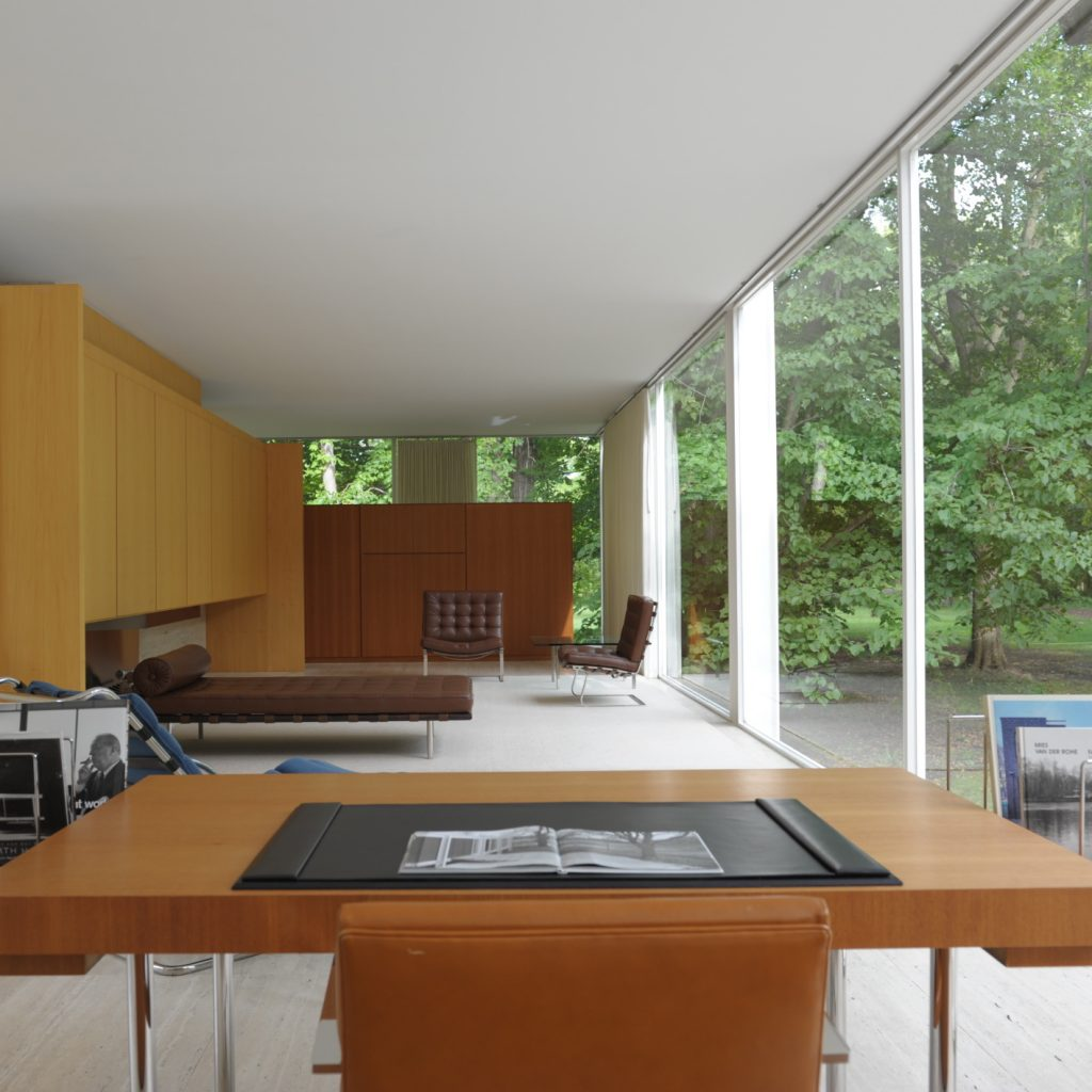 Casa Farnsworth Mies Van Der Rohe Refer 234 Ncia