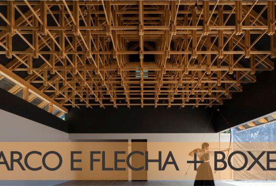 TIMBER STRUCTURE – SALÃO DE ARCO E FLECHA E BOXE