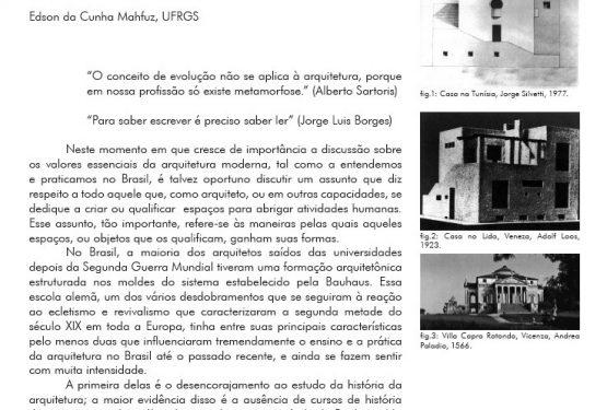 Nada Provém do Nada _ de Edson da Cunha Mahfuz